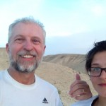 Israel Trail Days 40 and 41: Sde Boker to Makhtesh Ramon