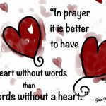 Heart in prayer