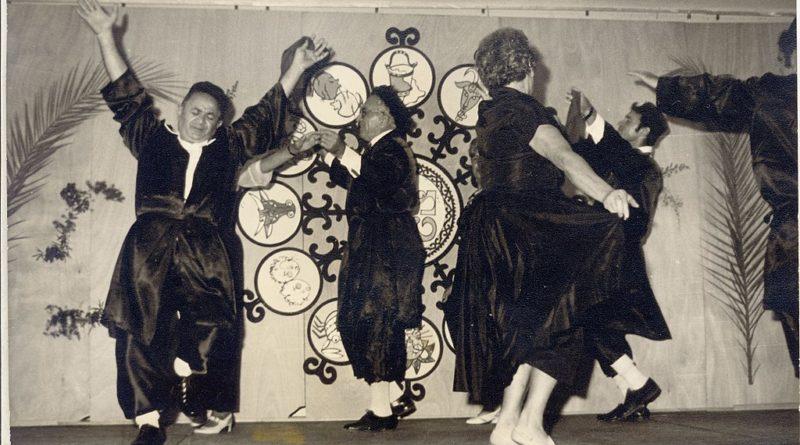 joyous dancing