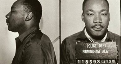martin Luther king jr in birmingham jail